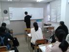 クラス指導の教室です。小人数制で、とことん学べます!!