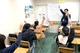 クラス指導用教室です。真剣かつ楽しく、非常に良い雰囲気の教室です。