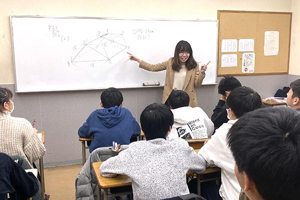 クラス指導教室です。