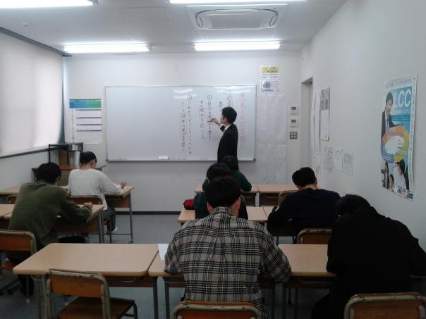 クラス指導教室です。大小合わせて4教室あります。