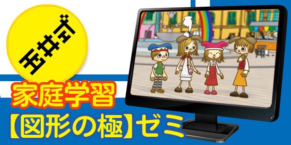【玉井式】家庭学習「図形の極」ゼミ